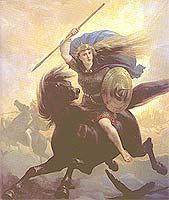 rättvisans gud nordisk mytologi